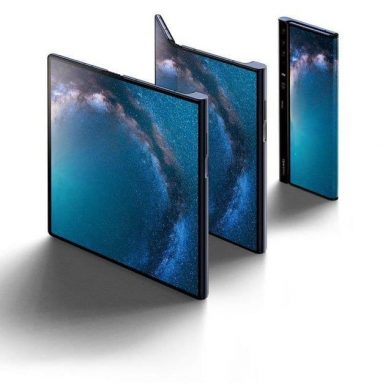 New foldable phones with a bendable display