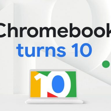 New Google page to celebrate the tenth birthday of Chrome OS