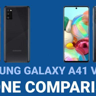 Samsung Galaxy A41 vs Galaxy A71 – Phone Comparison