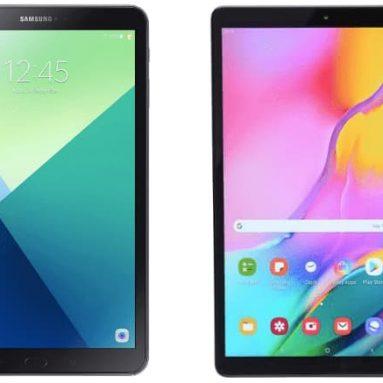 Samsung Galaxy Tab A 10.1 Tablet 2019 Edition vs 2016 edition